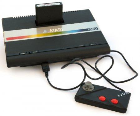 Увлекательный мир Atari 7800