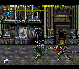Alien vs Predator (1993) [SNES]