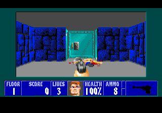 Небольшое обновление Wolf3D для Sega Mega Drive