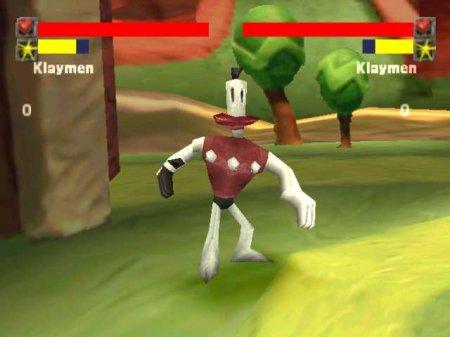 Klaymen в игре BoomBots