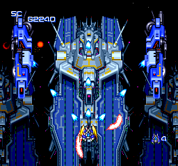 Nexzr [PC Engine CD]
