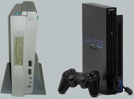 Дизайн PlayStation 2 был основан на не выпущенном компьютере Atari Falcon 030 / 040 Microbox