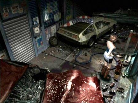 DeLorean DMC-12 в Resident Evil 3