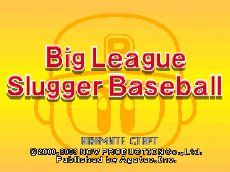 Big League Slugger Baseball (Kudos)