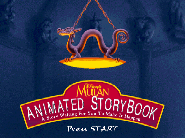 Disney's Mulan: The Animated StoryBook (Golden Leon)