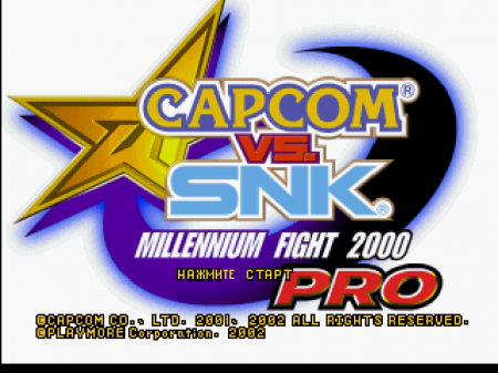 Capcom vs. SNK: Millennium Fight 2000 на русском языке