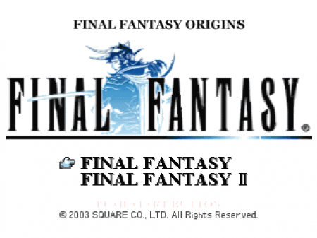 Final Fantasy Origins (Kudos)