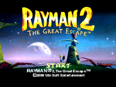 Rayman 2: The Great Escape на русском языке