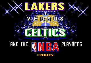Lakers vs Celtics and the NBA Playoffs (Мануал на русском) [Genesis]