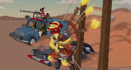 Twisted Metal в The Simpsons