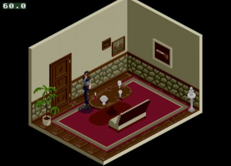 Демонстрационное видео Resident Evil для Sega Mega Drive / Genesis