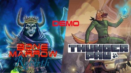 Bone Marrow Rebirth и Thunder Paw DEMO [SMD]
